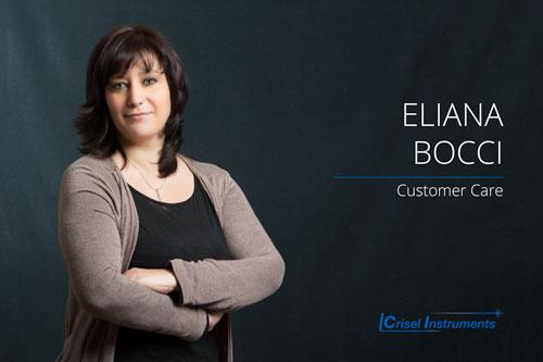 Eliana Bocci   - Customer Care  Da 15 anni cura il supporto commerciale e i progetti per la divisione biologia. Gestione import.