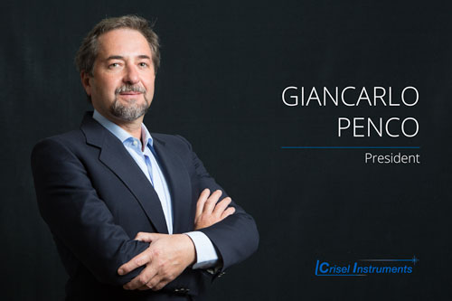 Giancarlo Penco - President More than 30 years of experience in the sales of electro-optical products, also trained the staff and the sales team companies in the field.