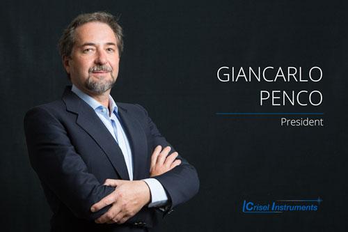 Giancarlo Penco - President Più di 30 anni di esperienza maturati nella commercializzazione di prodotti elettro-ottici, ha inoltre seguito la formazione del personale e guidato i gruppi di vendita in più aziende nel settore.