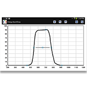 You to draw a spectral transmission curve on the screen of your device, and send that curve and associated specifications to Omega for a quote