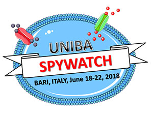 "SPYWATCH - Summer School ""PhYsiology and Biophysics of Water and Ion Channels""  Bari 18-22 Giugno 2018"