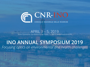 INO ANNUAL SYMPOSIUM 2019 Sesto Fiorentino (FI) 3–5 Aprile 2019