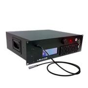 Laser bianco con trigger esterno e variabilita' impulso