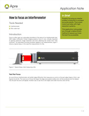 How-to-Focus-an-Interferometer