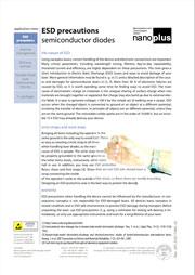Nanoplus ESD Precautions