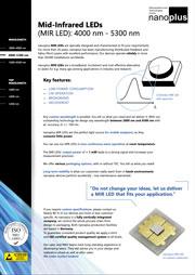 Nanoplus MIRLED 4000-5300nm